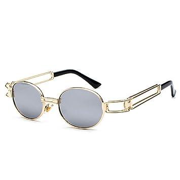 IHGBLIU Gafas de Sol Diseño Steampunk Gafas de Sol Damen ...