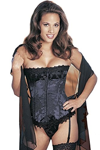 Plus Size Strapless Tapestry Corset Lingerie (Corset Strapless Shirley)