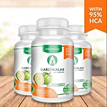 3 Pack 100% Pure Garcinia Cambogia ★ 95% HCA Extract 1540 MG Serving