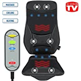 Gideon™ Luxury Cooling and Heating Ventilated Seat Cushion for Car and Home - with Vibrating Massage - 5-Level Cooling - Maximize Comfort During Travel, At Home and Office
