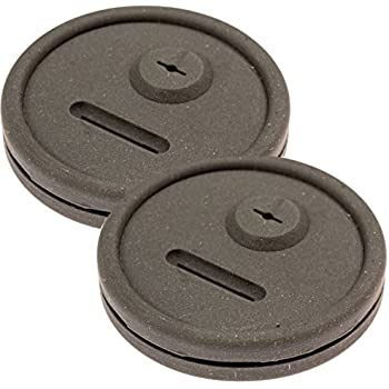 IMPRESA 2 Pack Thermometer and Probe Grommet for Grills - Compatible with Weber Smokey Mountain Cookers and More - Compare to Replacement 85037 Products