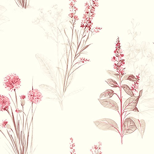 Floral Toile Wallpaper - 1