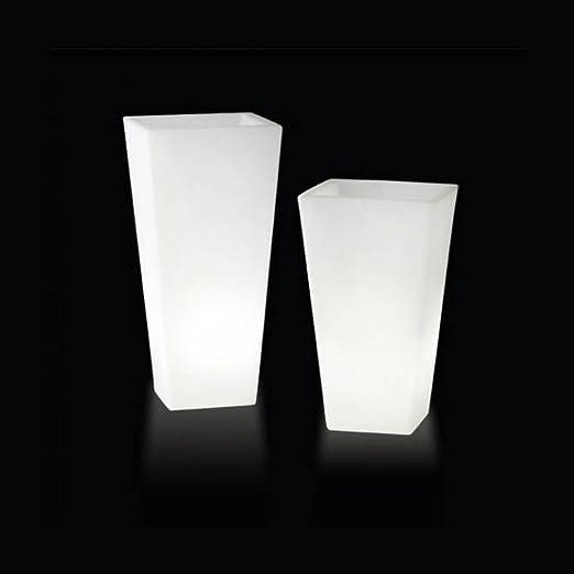 y-pot Light - Vaso luminoso da esterno h74 cm e L43 cm - Luce per ...