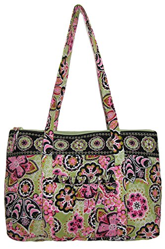 Large Quilted Tote Bag (Quilted Large Tote Overnighter Bag)