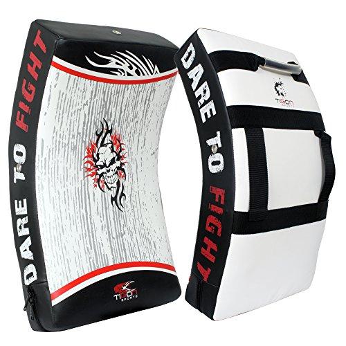Tigon Kick shield Gel Strike Shield Punch Bag Focus Kick Pad Punching Boxing MMA Martial Arts Training Arm (THIS IS SINGLE ITEM) by Tigon Sports