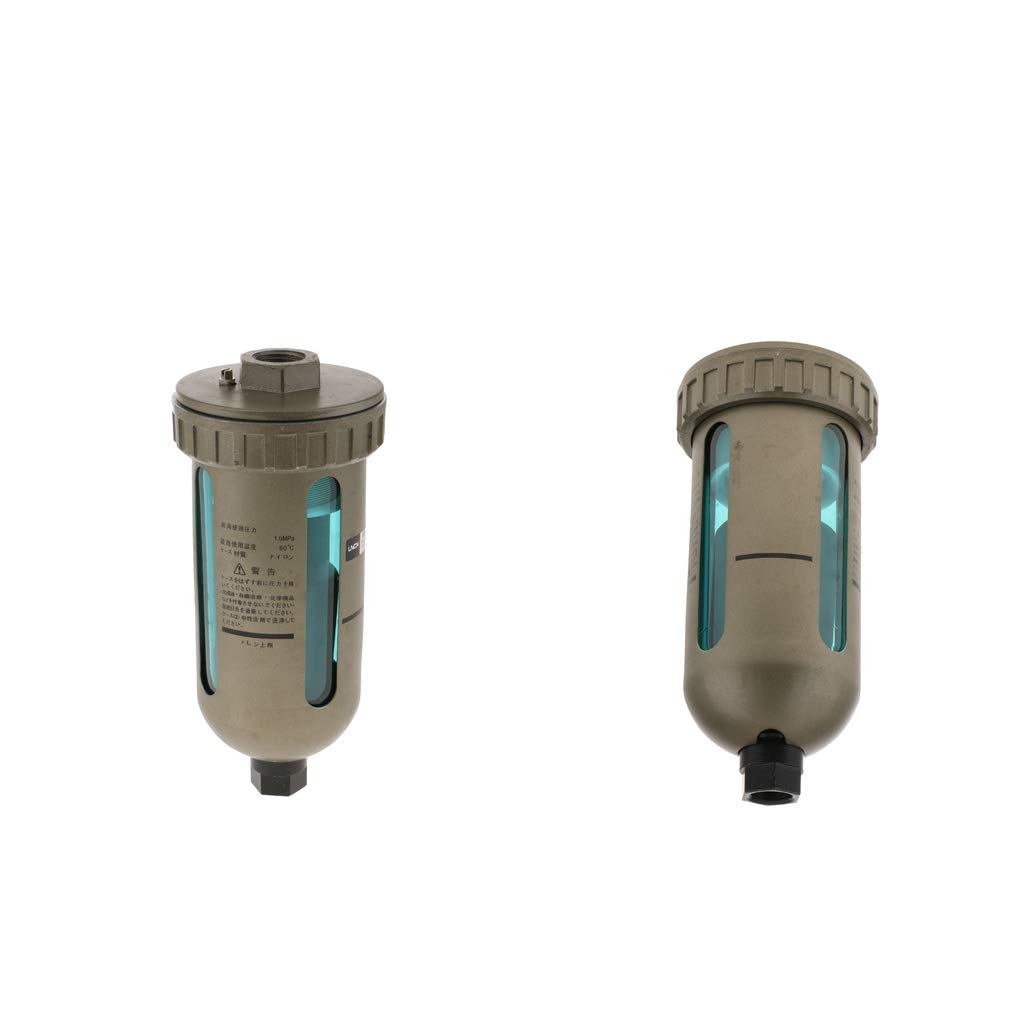 Homyl 2 Unidades Compresor de Trampa de Humedad Regulador de Filtro de Aire