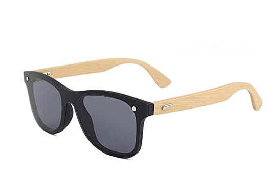 05f96cb29762 Retro Wood Sunglasses Men Bamboo Sunglass Women Brand Design Sport Goggles  Sun Glasses - Black