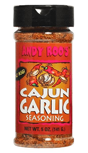 Andy Roo's Cajun Garlic Seasoning, 5 Ounces