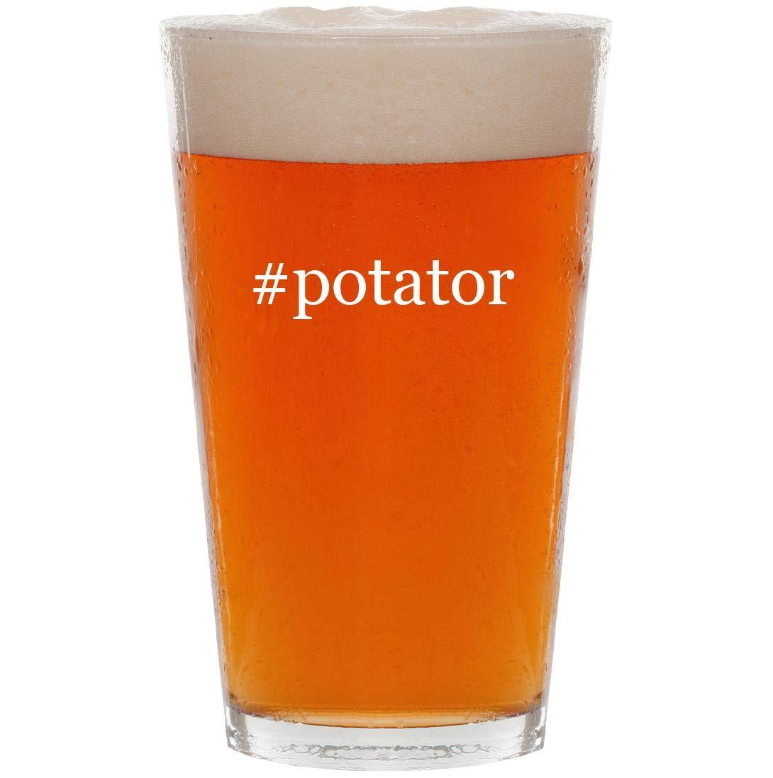 #potator - 16oz Hashtag Pint Beer Glass