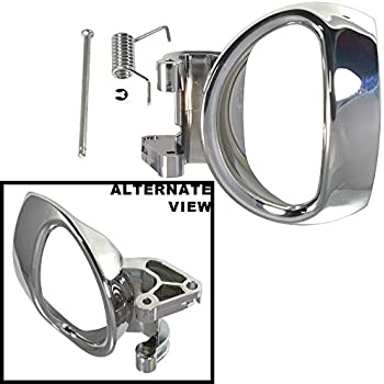 Amazon.com: Drivers Inside Interior Door Handle Chrome Lever w ...