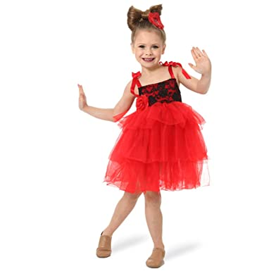 ed5aad6df151 Amazon.com  Alexandra Collection Youth Darling Dance Costume Skirted ...