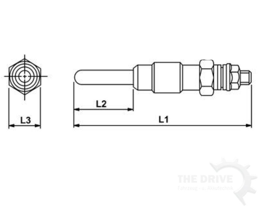 Bujía de Incandescencia (equivalente a ngk y de 709r/Champion ch152: Amazon.es: Coche y moto