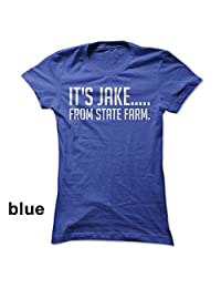 FaceYee Fashion Tops It's Jake, from State Farm Unisex Shirt Funny T-Shirts
