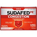 Sudafed PE Congestion Tablets - 36 ct, Pack of 2