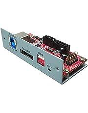USB 3.0 / eSATA (6Gb) to Dual SATAIII RAID Controllers Driver-Less and retain Data