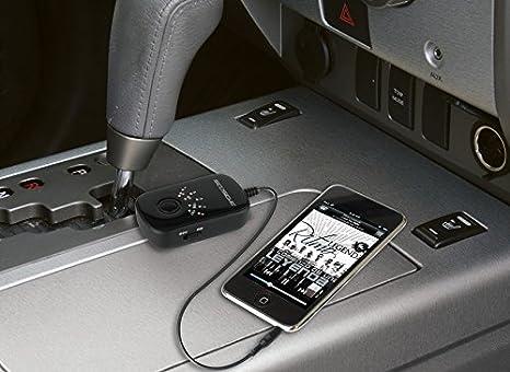 SCOSCHE BTFM3SR-SP1 BTFREQ Universal Bluetooth Hands-Free Car Kit with Digital FM Transmitter and 10-Watt USB Car Charger Silver