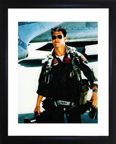 (Tom Cruise Top Gun Framed Photo)