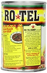 Ro-Tel  Chunky Diced Tomatoes & Green Chilies, 10-Ounce Cans (Pack of 12)