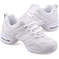 Zapatos De Baile Aliento De Suela Suave para Mujer Zapatos De Práctica Zapatos De Jazz De Baile Moderno Zapatillas De…