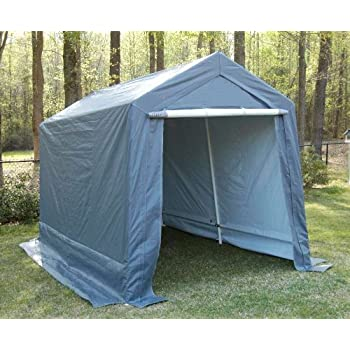 Amazon.com : King Canopy 7 by 12-Feet Garage - Fully ...