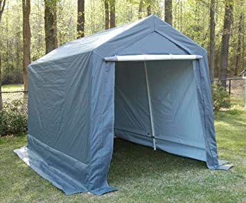 King Canopy 7 by 12-Feet Garage - Fully Enclosed : enclosed canopy - memphite.com