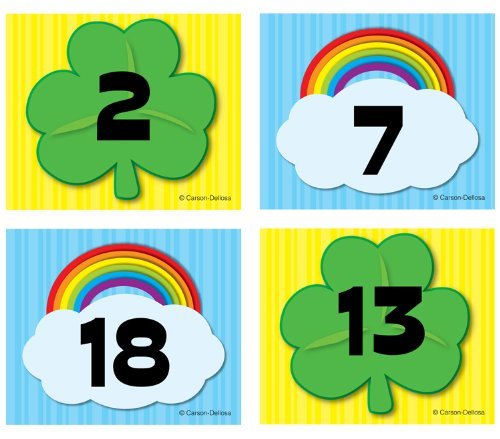 Shamrock/Rainbow Calendar Cover-Up -