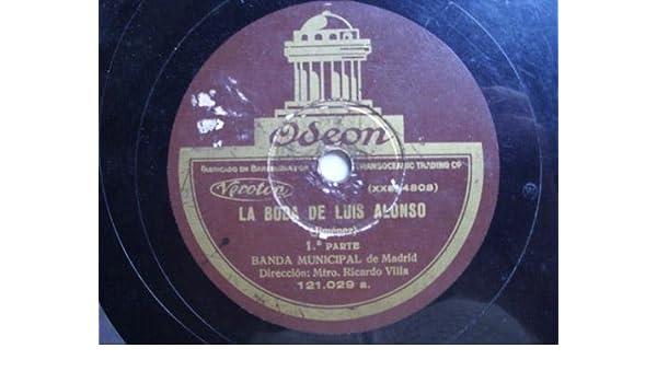 Antiguo Disco Pizarra - Old Slate Disc : BANDA MUNICIPAL DE ...