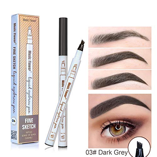 Eyebrow Pen,2018 Ankooy Eyebrow Long Lasting Tint Dye Cream,Waterproof,Smudge-proof ()