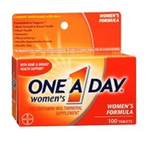 One-A-Day Women's Multivitamin and Supplement Tablets 100 Ta