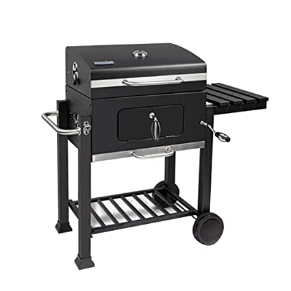 Amazon.com: BBQ Smoker Charcoal Barbecue Barrel Grill ...