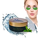 Best Eye Gel Cream For Wrinkles Fine Lines Dark Circles - Green Tea MATCHA Firming Eye Mask | Best Review
