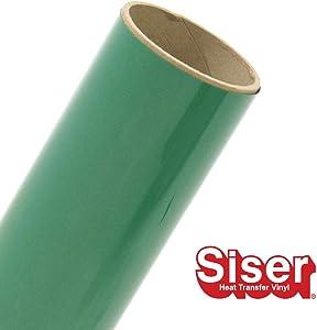 """Siser EasyWeed HTV 11.8"""" x 30ft Roll - Iron On Heat Transfer Vinyl (Green)"""
