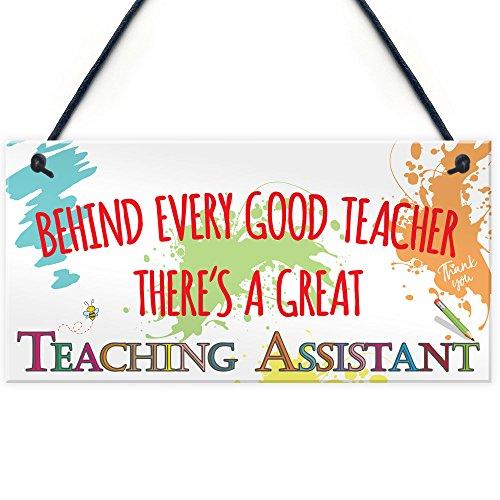East of India Teacher Gift Three Reason for Teaching Plaque by EofI