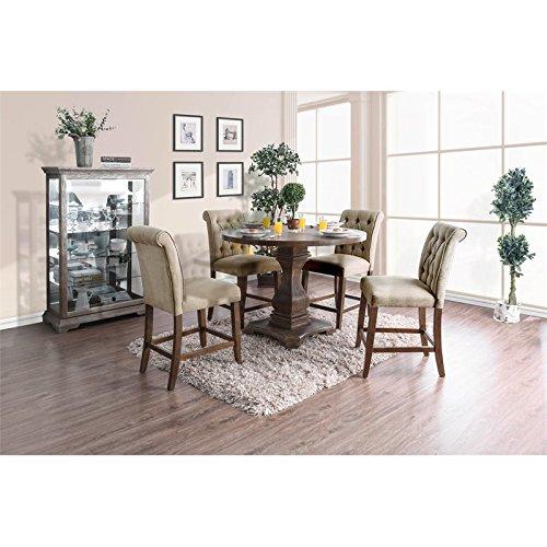 - Furniture of America Gilda Rustic 48