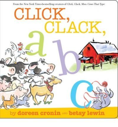 Read Online Click, Clack, ABC (Board book) - Common PDF
