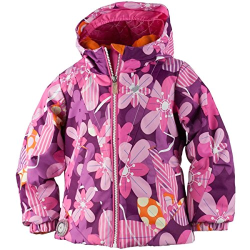 Obermeyer Kids Baby Girl's Ashlyn Jacket (Toddler/Little Kids/Big Kids) Pinwheel 7 by Obermeyer Kids