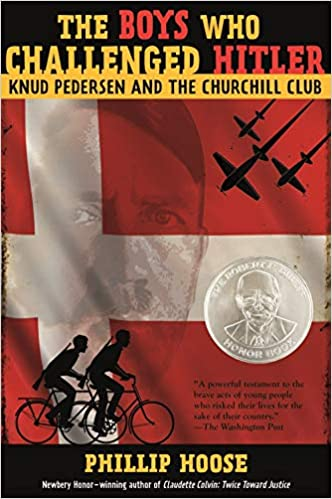 Book's Cover of The Churchill Club: Knud Pedersen and the Churchill Club (Bccb Blue Ribbon Nonfiction Book Award (Awards)) (Inglés) Tapa dura – Ilustrado, 12 mayo 2015