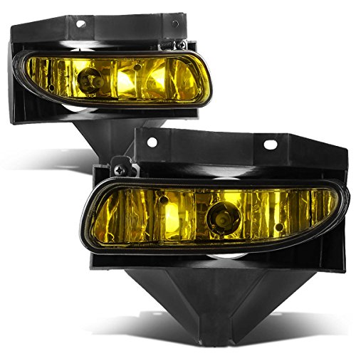 Ford Mustang New Edge Pair of Bumper Driving Fog Lights (Amber Lens)