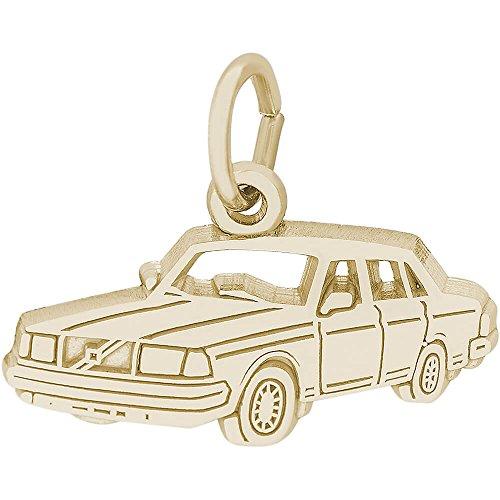 Vintage 10k Gold Charm - 8