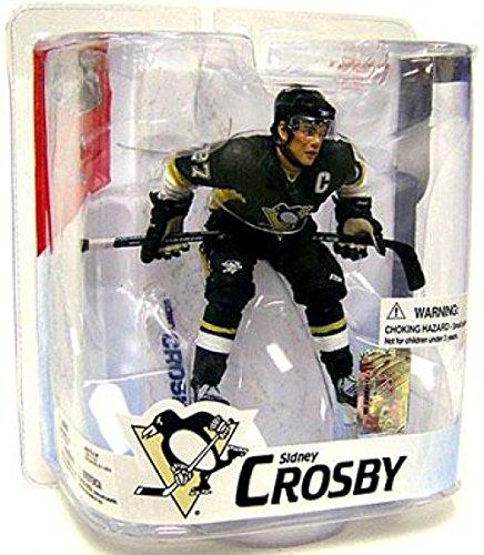- McFarlane Toys NHL Sports Picks Series 16 Action Figure Sidney Crosby (Pittsburgh Penguins) Black Jersey Variant