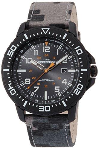 Uplander Camo  Mens Wristwatch Indiglo Illumination - Timex Expedition T49966