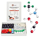 Molecular Model Kit - Students Modeling Set for Organic Chemistry - Color Coded Atom Collection (123 Pieces)