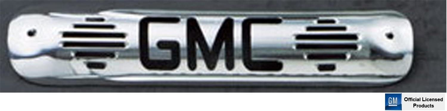All Sales 94011P Polished Billet Aluminum Third Brake Light Cover GMC Logo