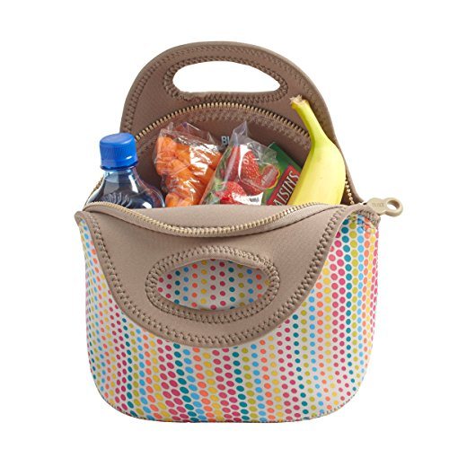 built ny gourmet getaway neoprene lunch tote candy dot 11street malaysia container lunch. Black Bedroom Furniture Sets. Home Design Ideas