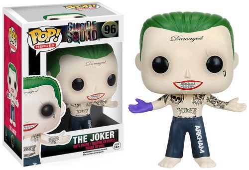 POP! Vinilo - Suicide Squad Joker Shirtless