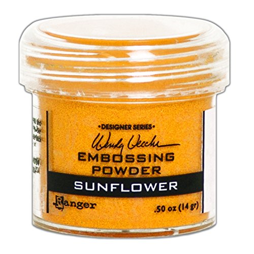 Ranger WEP49067 Wendy Vecchi Embossing Powder .63oz-Sunflower