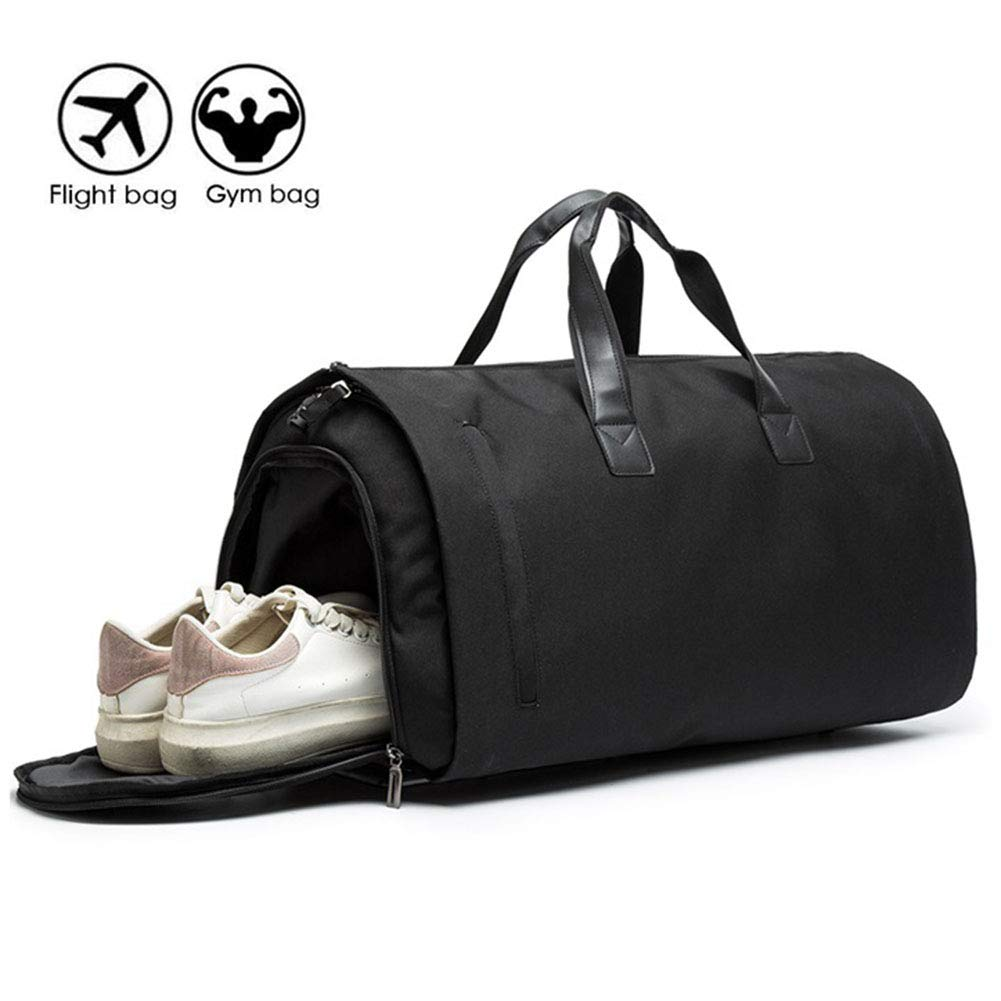 Carry on Garment Bags Business Suit Bag Travel Duffel Garment Bags Hanging Suitcase Suit Travel Bags for Men and Women Over-sized Flight Bag