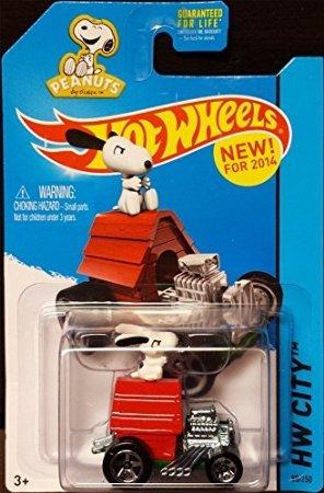 2014 Hot Wheels Hw City (88/250) - Snoopy