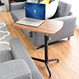 Apontus Height Adjustable Laptop Tray Stand Bedside Table