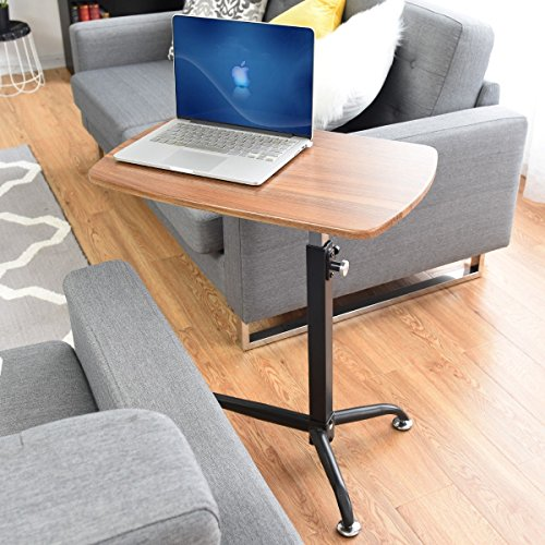 Apontus Height Adjustable Laptop Tray Stand Bedside Table by Apontus
